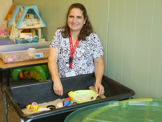 Heather McAdoo is a speech therapist for Liberty Post