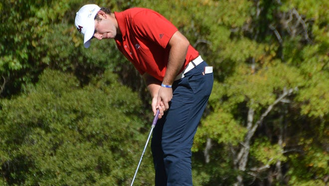 Philp Barbaree Jr. hit a rough stretch at the St. Jude Classic.