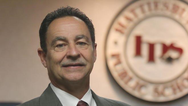 Hattiesburg Public School District interim Superintendent Greg Ladner