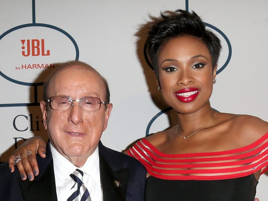 Clive Davis and Jennifer Hudson