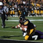 Mark Weisman brings a battering-ram approach to Saturday's 2:30 p.m. showdown with the 14 th -ranked Badgers.