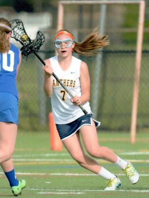 Pequannock sophomore Lexi Robinson recorded her 100th career point this past week.
