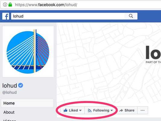 Facebook news feed changes