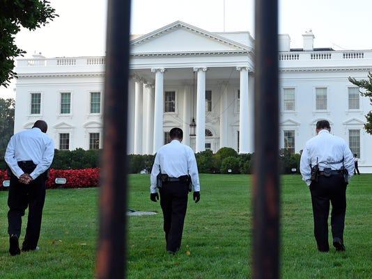 APTOPIX White House Intruder