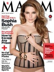 MAXIM April Cover_Sophia Bush