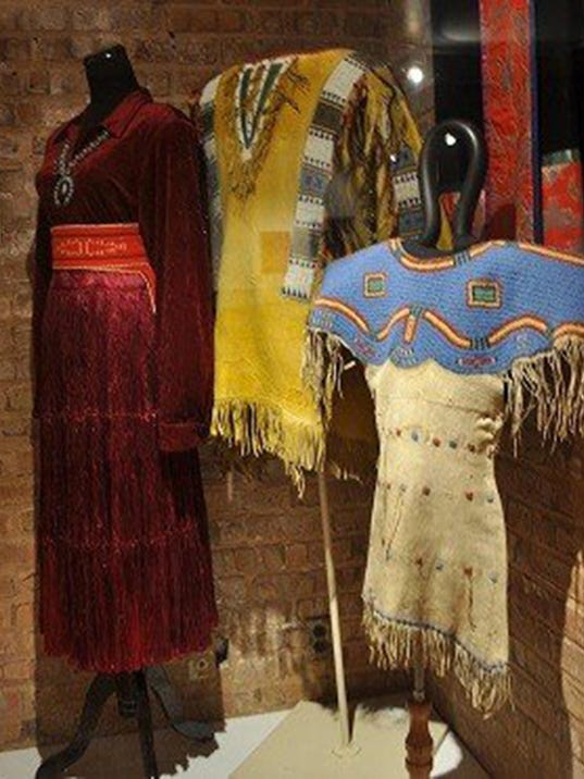 Mitchell Museum looks at native fashions
