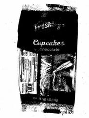 Photograph of chocolate cupcake that a Westchester