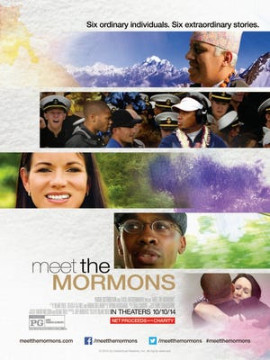 "The poster for ""Meet the Mormons."""