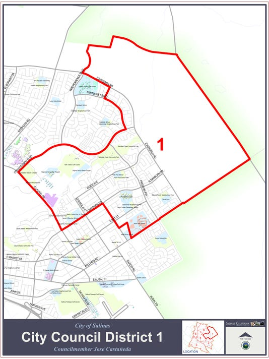 Salinas City Council District 1