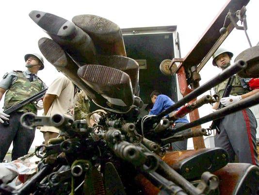 AFP CHINA-CRIME-GUNS I LAW CHN LI
