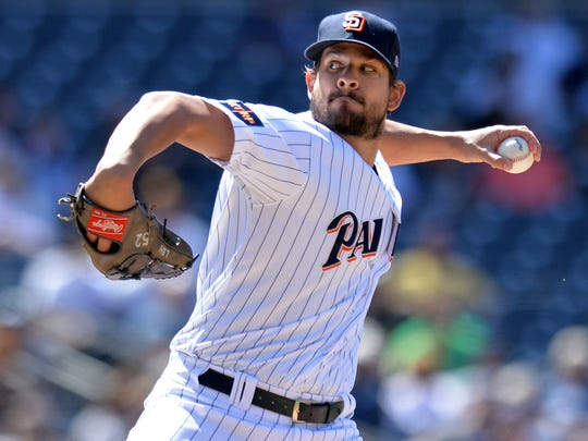 July 19: The Padres trade LHP Brad Hand and RHP Adam Cimber to the Indians for minor league C Francisco Mejia.