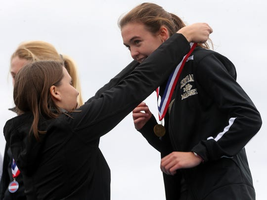 Central Magnet's Taylor Cuneo won the TSSAA Class A/AA state meet with a time of 18:21.24.