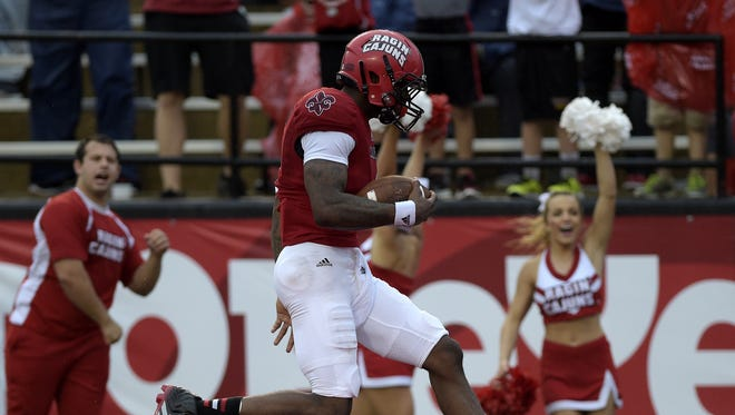 UL Ragin' Cajuns wide receiver Jamal Robinson says he ready to return for Saturday's Sun Belt opener.