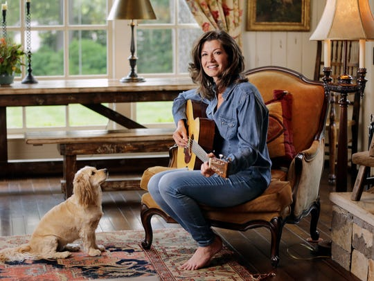 In this April 25, 2016, photo, Amy Grant poses for