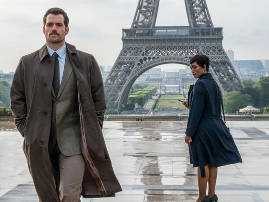 """Henry Cavill and Angela Bassett star in """"Mission: Impossible - Fallout."""""""