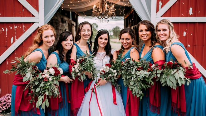 Mulberry and Sage Photography specializes in wedding and engagement photos.
