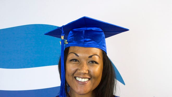Kaisi Balmer has turned her life around and will be one of the speakers at Rio Salado's commencement ceremony May 6 at the Comerica Theatre.