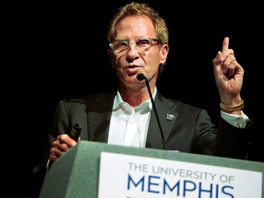 R. Brad Martin served as the University of Memphis' interim president during the 2013-14 academic year