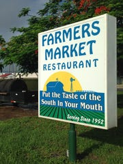 Farmers Market Restaurant opened on Edison Avenue in