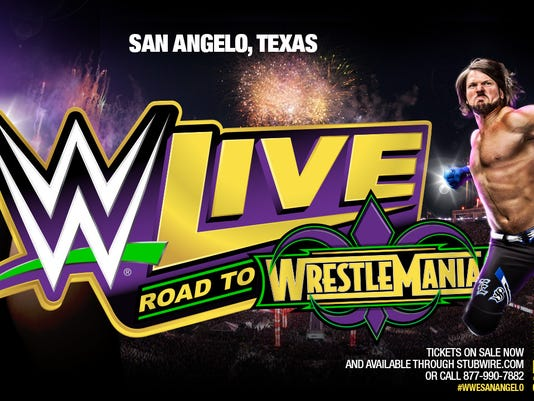 WWE returns to San Angelo
