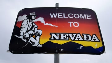 Here's how you could own a 'Welcome to Nevada' sign