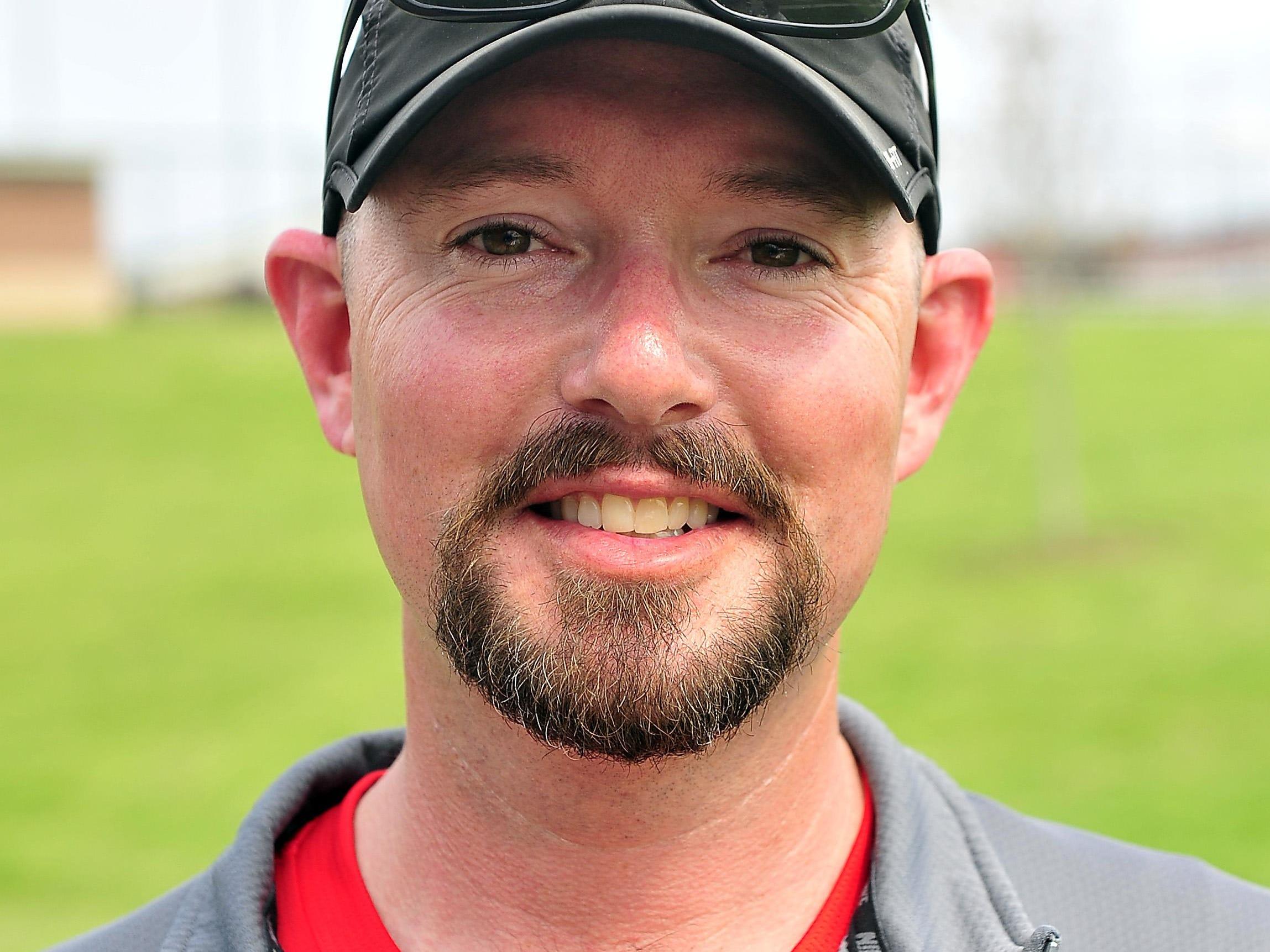 Ravenwood coach Robbie McCammon.