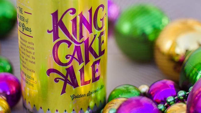 Mudbug King Cake Ale was a huge success this year.