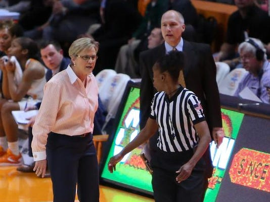 NCAA Womens Basketball: South Carolina at Tennessee