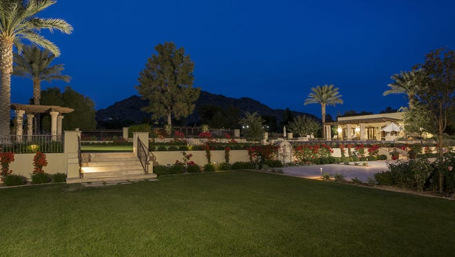 Barry M. Smith, the chief executive officer of Magellan Health Inc., and his wife, Julia, bought a $6.17 million, 2009 house in Paradise Valley. Magellan Health manages health benefits and transferred from Connecticut to Scottsdale in 2014. The Smiths brought the 12,929-square-foot house at the Desert Fairway Estates through their trust.