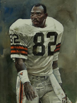 """""""Ozzie Newsome"""" from """"Reflections: The Artistic Spirit of Merv Corning"""""""