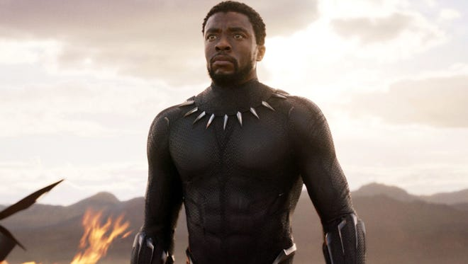 Chadwick Boseman stars in Marvel's 'Black Panther'
