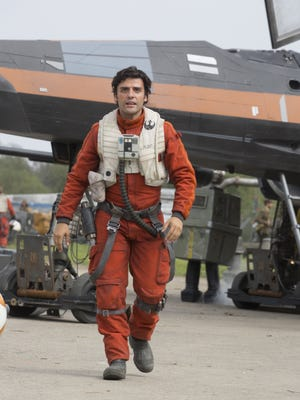 Oscar Isaac says Poe Dameron (Oscar Isaac) is the best pilot in the galaxy.