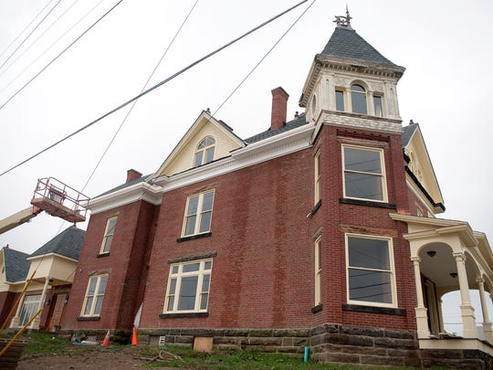 The Richland County Foundation has been renovating the Ritter House on 181 S. Main St. for two years. The Ritter House was originally built in 1891.