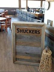 Shucker's opened Oct. 20 alongside Gulfshore Grill