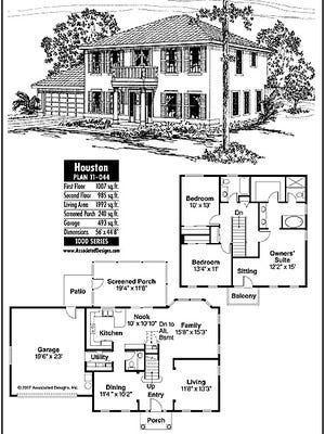 Houston house plan