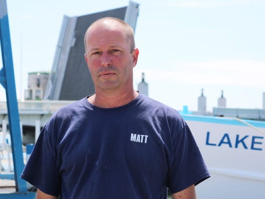 Matt Paeth, co-owner of the Drawbridge Marina, said his and many other businesses north of the Port Clinton Lift Bridge were hurt by the continued delays.