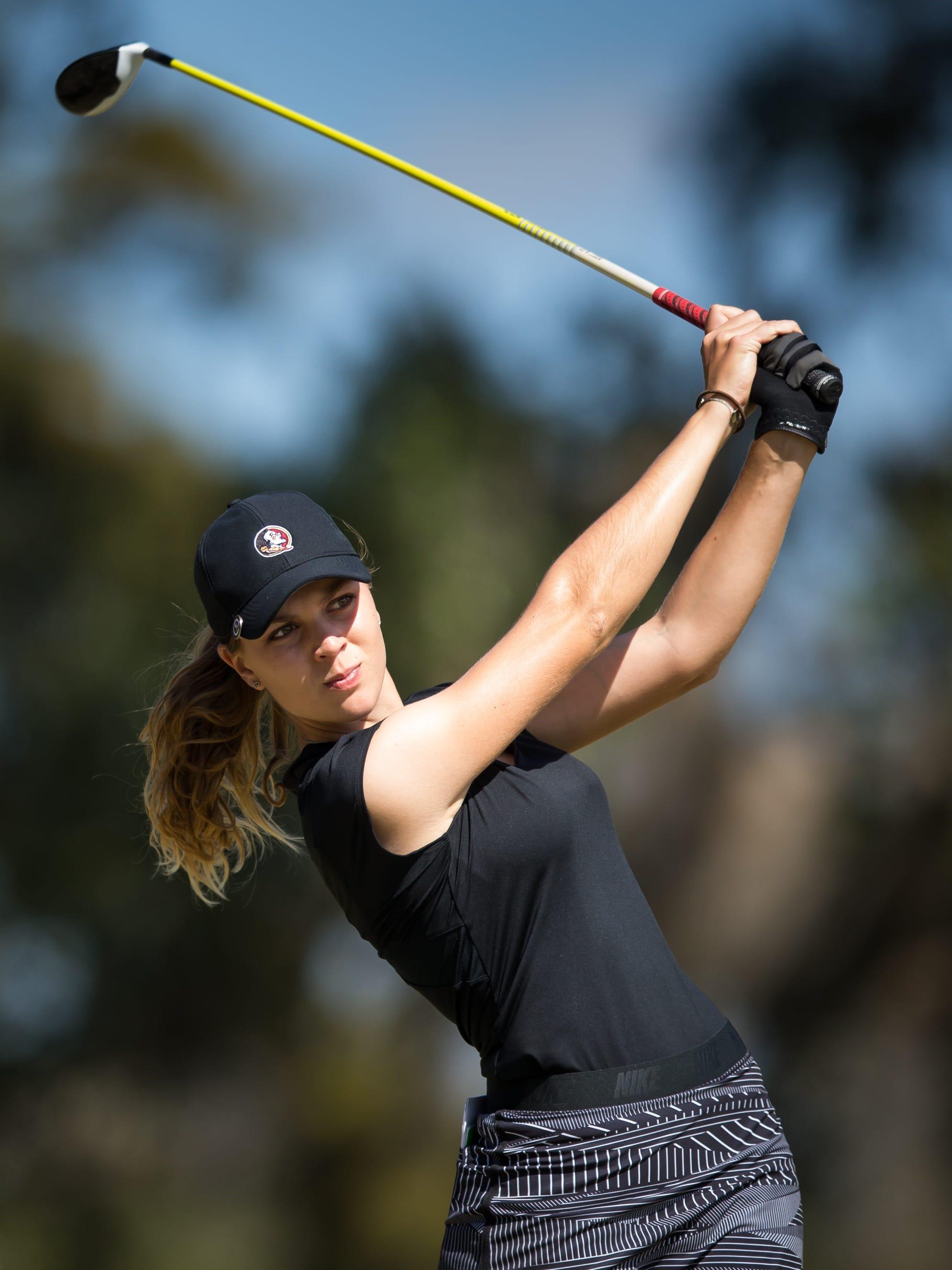 FSU's Morgane Metraux set for U.S. Women's Open