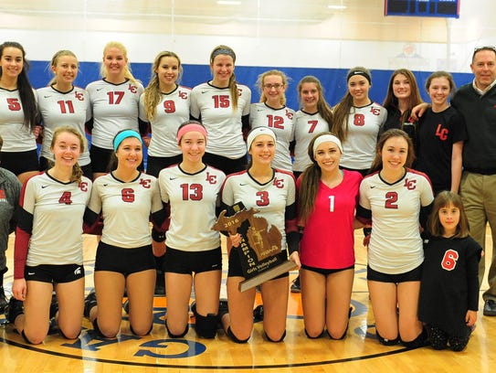 Livonia Churchill repeated as Class A regional volleyball