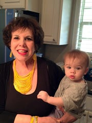 Sharon Hanchey and her great-granddaughter Peyton Marie