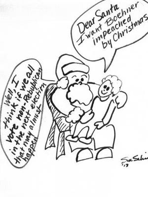 Cartoon submitted by Susan Schickler of Rochester.