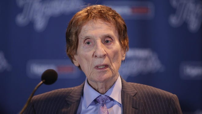 Mike Ilitch, owner of the Detroit Tigers and Detroit Red Wings, died Friday, Feb. 10, 2017. He was 87 years old.