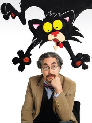 """""""Bad Kitty"""" author and illustrator Nick Bruel will visit Otero County elementary schools between today and Friday. Bruel will also sign his books at Alamogordo's Yucca Elementary School Friday."""