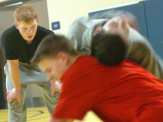 South Eastern Middle School eighth-grader Chance Marsteller,
