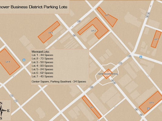 Yes, there is parking in downtown Hanover. (Courtesy of Main Street Hanover)