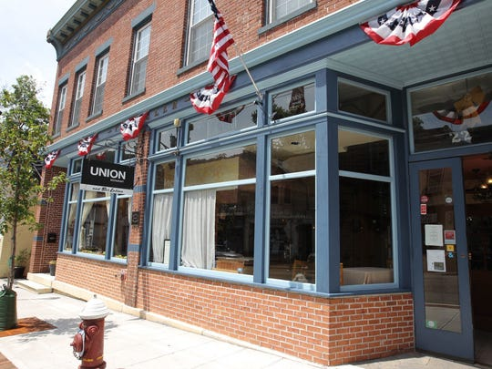 The street view of Union Restaurant and Bar Latino on New Main St. in Haverstraw.