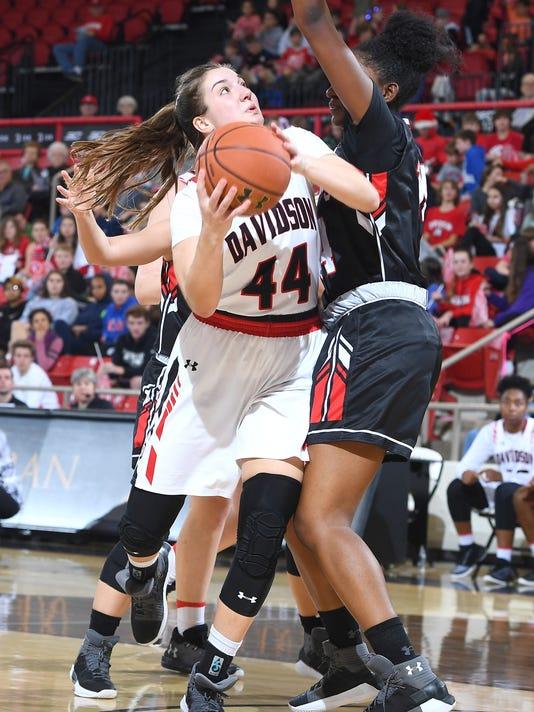 NCAA WOMENS BASKETBALL:  DEC 15 Gardner-Webb at Davidson