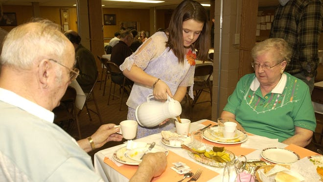Volunteers are needed to help prepare and serve the annual Thanksgiving Day community dinner at St. Luke's Lutheran Church in Wisconsin Rapids.