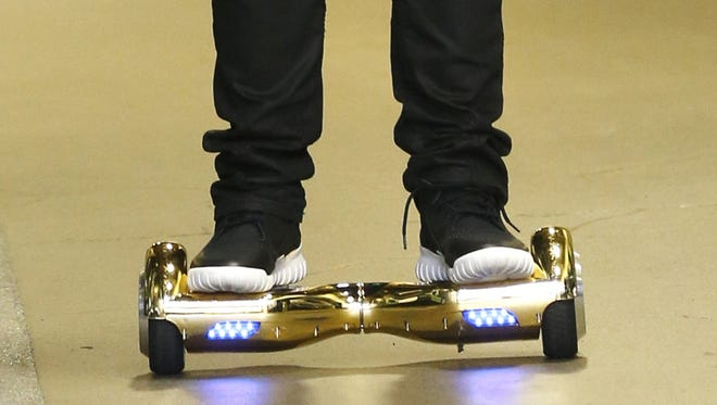 This is not a hoverboard. (AP Photo/Stephen Brashear)