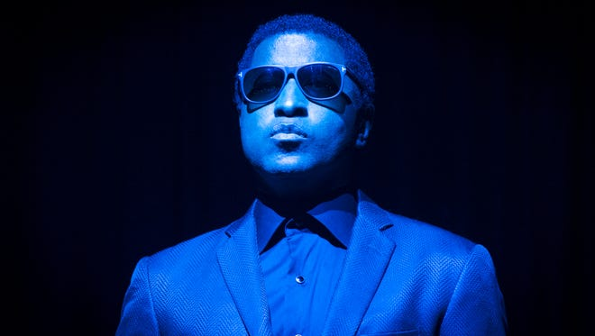 "Kenny ""Babyface"" Edmonds, shown taking the Bankers Life Fieldhouse stage for 2014 Indiana Black Expo Summer Celebration concert, will hit the Murat Theatre on Sunday, Feb. 14."