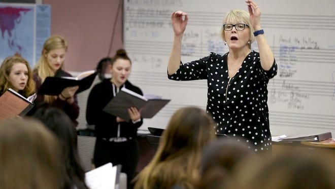Sylvia Cauter is a vocal music teacher at North Kitsap High School.